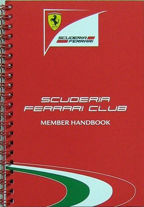 Picture of FERRARI MEDIA BOOK 2012 SCUDERIA FERRARI CLUB MEMBER HANDBOOK