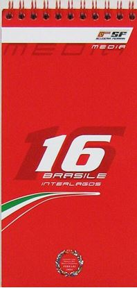 Picture of FERRARI MEDIA BOOK 2009 GP BRASILE N.16