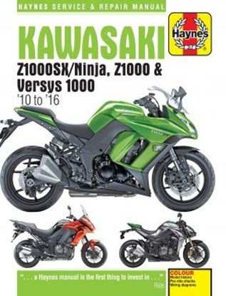 Immagine di KAWASAKI Z1000SX/NINJA, Z1000 & VERSYS 1000 2010 to 2016 SERVICE & REPAIR MANUAL N.6377