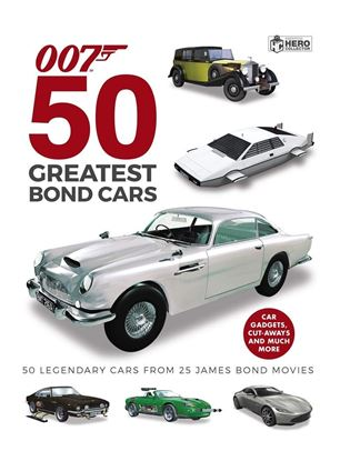 Picture of 007: 50 GREATEST BOND CARS