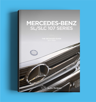 Picture of MERCEDES BENZ SL/SLC 107 SERIES:  THE DETAILED GUIDE 1971-1989