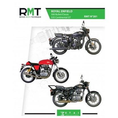 """Picture of ROYAL ENFIELD 500 BULLET/CLASSIC & 535 CONTINENTAL GT N° 201 - SERIE """"REVUE MOTO TECHNIQUE"""""""